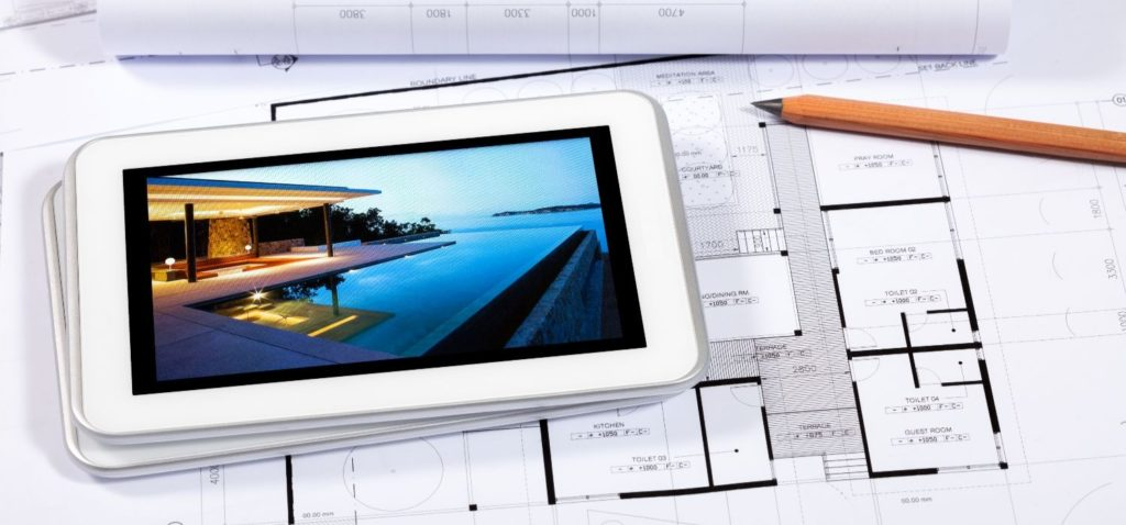 IPhone on House Plans
